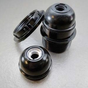 E27锁式半牙电木灯座